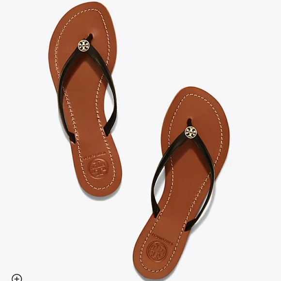 5b35dd9045a Tory Burch Shoes - TORY BURCH TERRA THONG SANDAL - SIZE 7